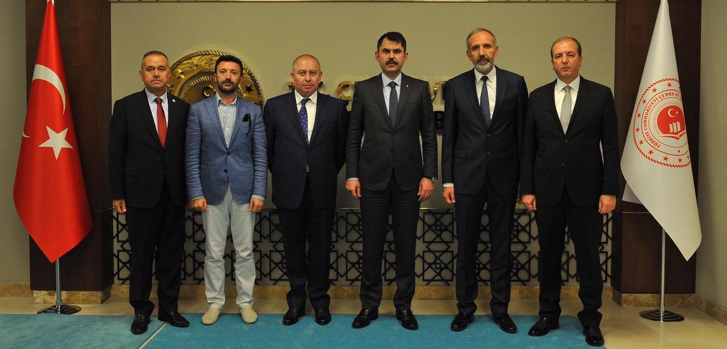Çevre Bakanımız Murat Kurum'a iade-i ziyaret