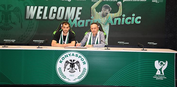 Marin Anicic Konyaspor'umuzda!