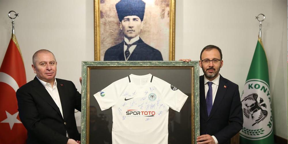 Bakan Mehmet Kasapoğlu müzemizi ziyaret etti