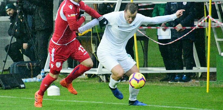 Takımımız Antalya kampındaki ikinci özel maçta Altınordu'ya 1-0 kaybetti