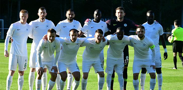 Atiker Konyaspor'umuz özel maçta Hatayspor'u 3-1 mağlup etti