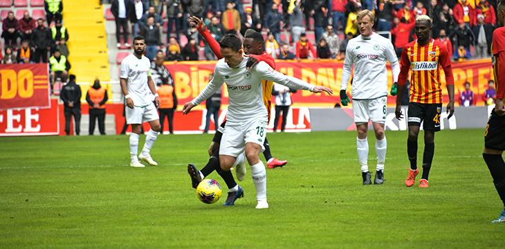HK Kayserispor 2- 2 İttifak Holding Konyaspor'umuz