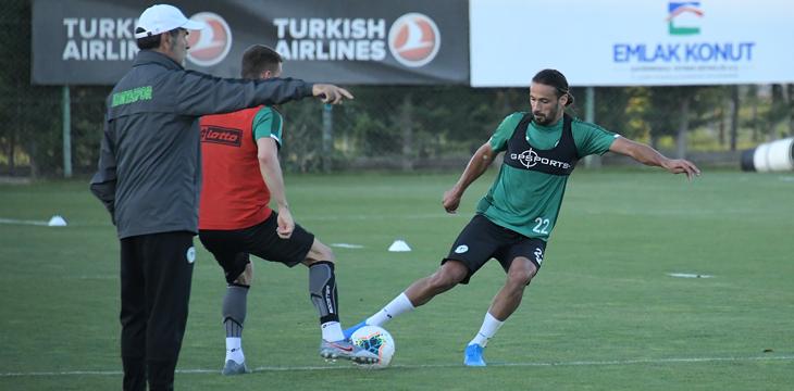 İttifak Holding Konyaspor'umuz Kasımpaşa maçı hazırlıklarına başladı