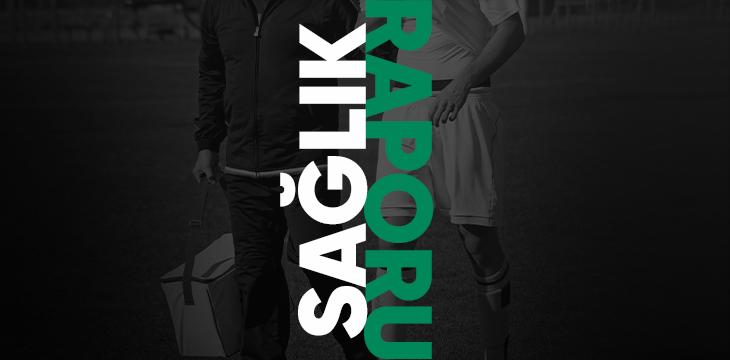 Kulüp Doktorumuz Gökhan Özhan'dan sakatlıklar ile ilgili açıklama