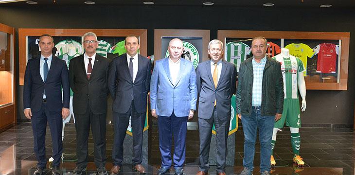 Atiker Konyaspor için hatıra pulları basılacak