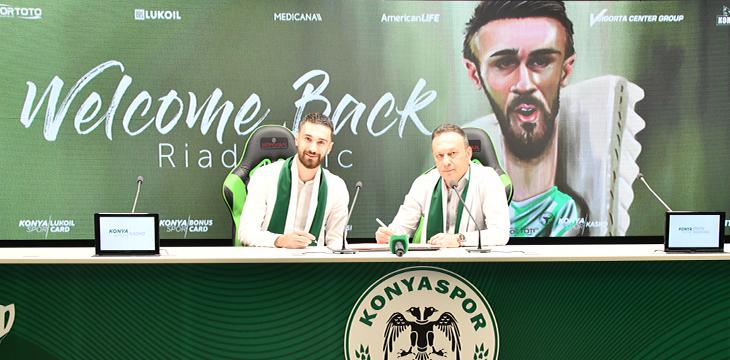 Riad Bajic yeniden Konyaspor'umuzda!
