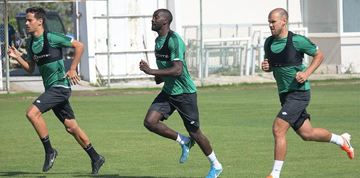 Konyaspor'umuzda oyuncularımız YOYO Testi'nden geçti