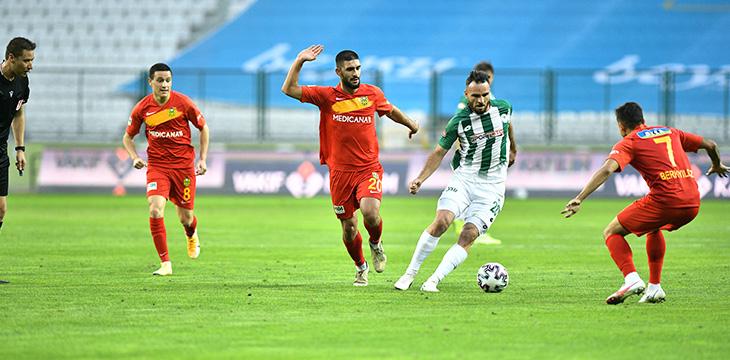 İttifak Holding Konyaspor'umuz: 1- Y.Malatyaspor: 1