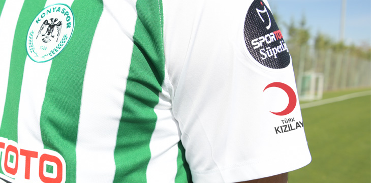 Beşiktaş maçında Türk Kızılay'ının logosunu formamızda taşıyacağız