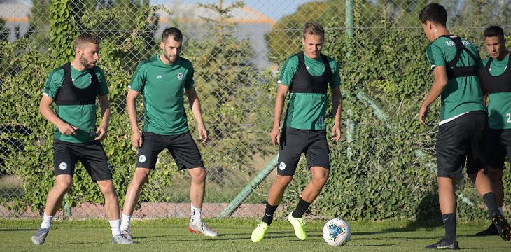 Konyaspor'umuzda yeni sezon hazırlıkları 3 gün aradan sonra yeniden başladı