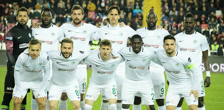 Atiker Konyaspor'umuz Sivas deplasmanından 1 puanla dönüyor