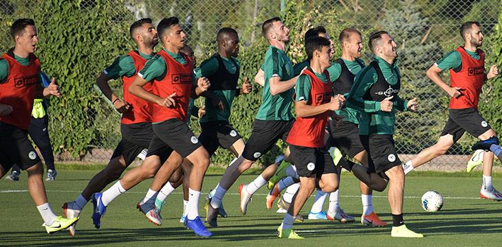 Konyaspor'umuzda Antalyaspor maçı hazırlıkları başladı