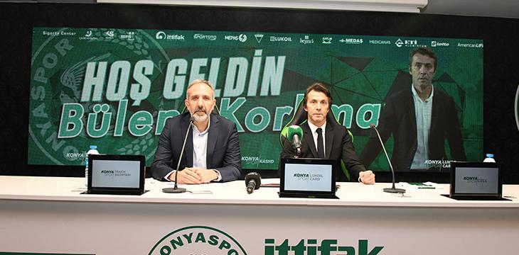 Yeni teknik direktörümüz Bülent Korkmaz ile resmi sözleşme imzaladık