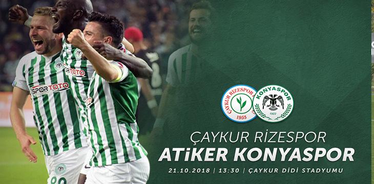 Takımımız 9.hafta maçında Ç.Rizespor ile deplasmanda karşılaşacak