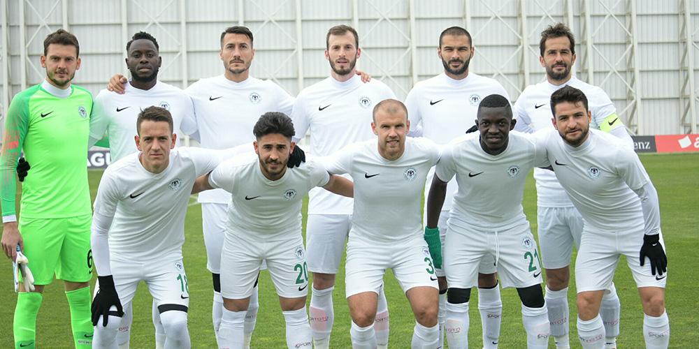 Atiker Konyaspor'umuz özel maçta Adanaspor'u 3-2 mağlup etti