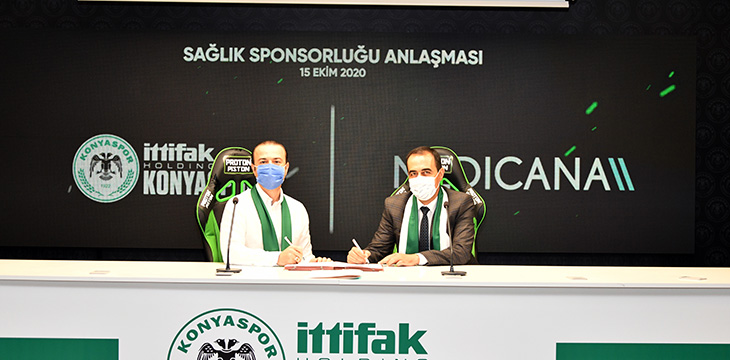 Sağlık sponsorumuz Medicana ile sözleşme yeniledik
