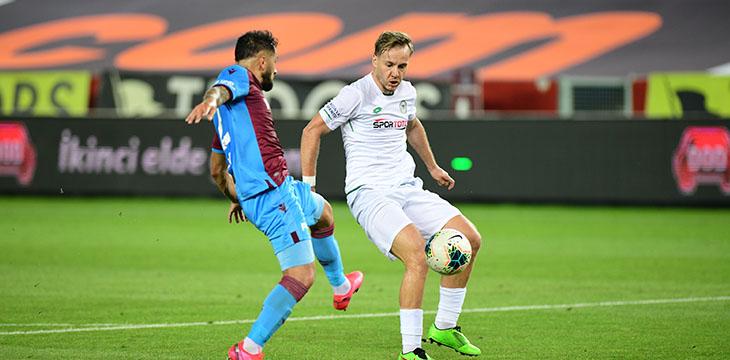 Trabzonspor deplasmanından 4-3'lük galibiyetle dönüyoruz