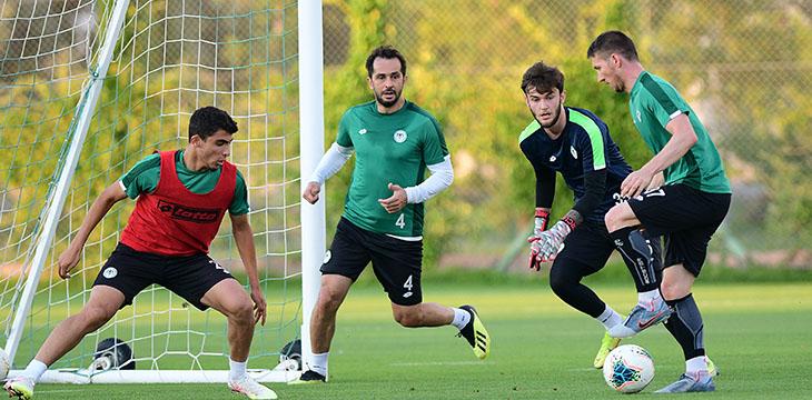 İttifak Holding Konyaspor'umuz Trabzonspor maçı hazırlıklarına başladı