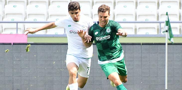 İttifak Holding Konyaspor'umuz antrenman maçı yaptı
