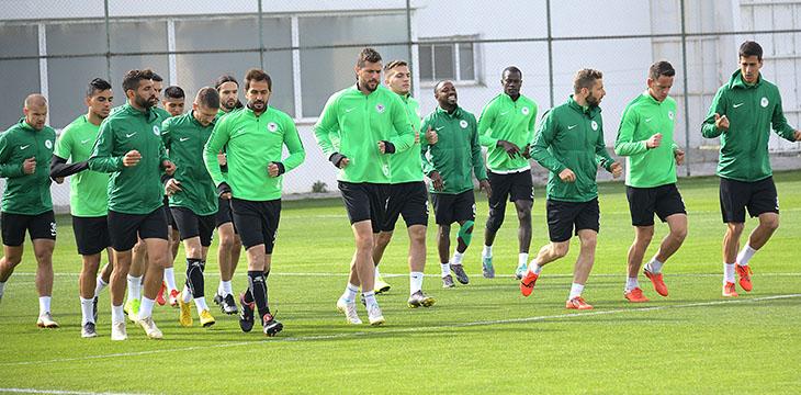 Atiker Konyaspor'umuz MKE Ankaragücü maçı hazırlıklarına devam etti