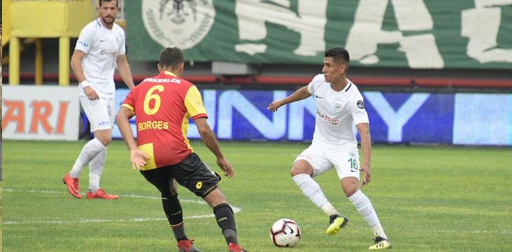Takımımız deplasmanda Göztepe'ye 3-2 mağlup oldu