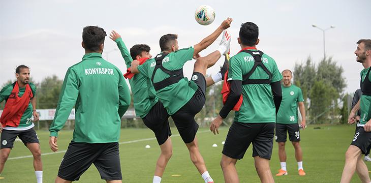 Konyaspor'umuzda Galatasaray maçı hazırlıkları başladı