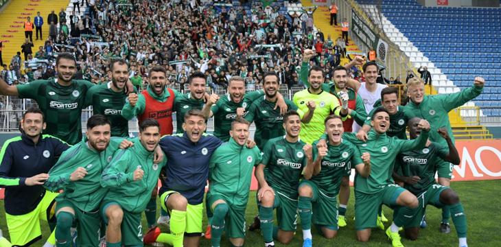 İttifak Holding Konyaspor'umuz Kasımpaşa'yı 4-1 mağlup etti