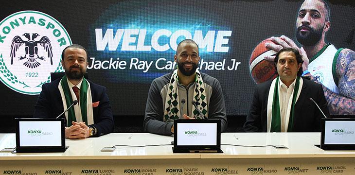Jackie Ray Carmichael Jr ile resmi sözleşme imzaladık