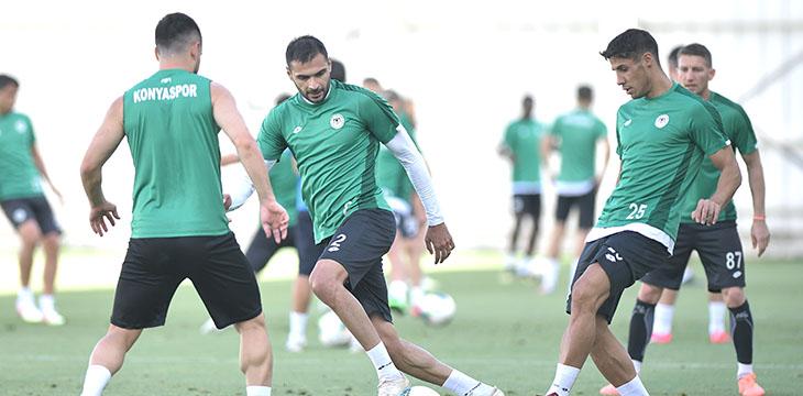 Takımımız Gaziantep FK maçının hazırlıklarını tamamladı