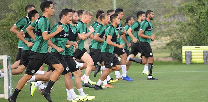 Konyaspor'umuzda Denizlispor maçı hazırlıkları başladı