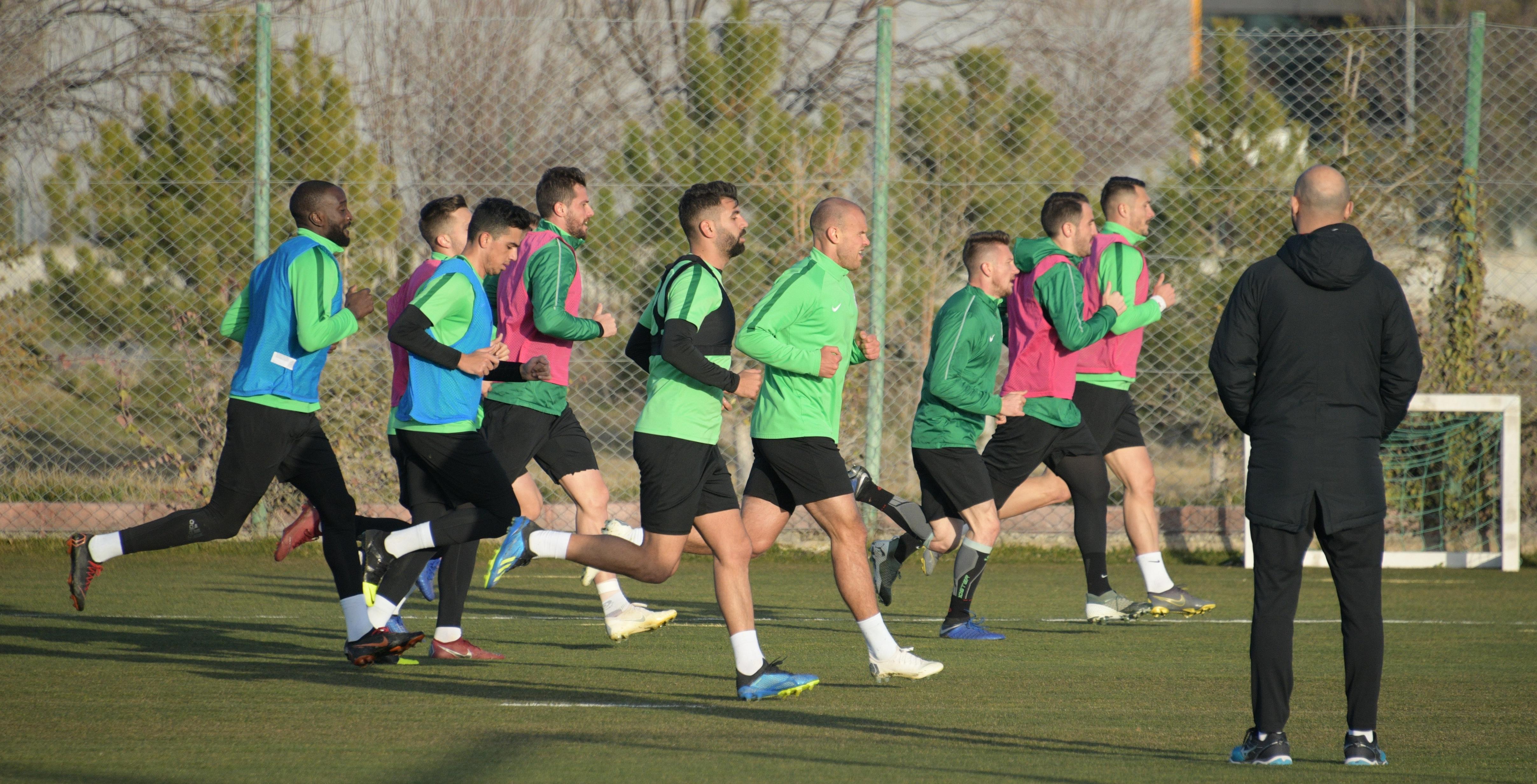 Atiker Konyaspor'umuzda Kayserispor maçı hazırlıkları başladı