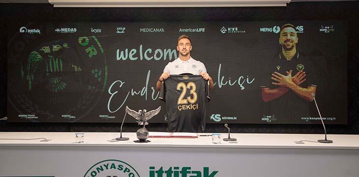 Endri Çekiçi İttifak Holding Konyaspor'umuzda