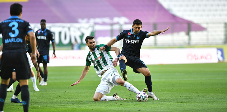İttifak Holding Konyaspor'umuz: 1 Trabzonspor: 1