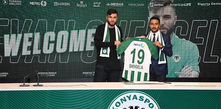 Levan Shengelia Konyaspor'umuzda!