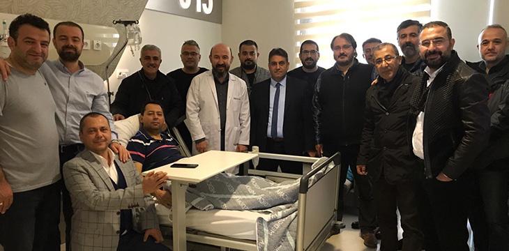 Asbaşkanımız Mustafa Aydınalp ameliyat oldu