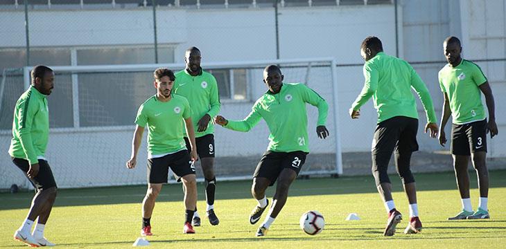 Takımımız Beşiktaş maçının hazırlıklarını tamamladı