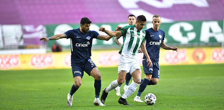 İttifak Holding Konyaspor'umuz Kasımpaşa'yı 2-1'lik skorla mağlup etti