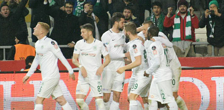Atiker Konyaspor'umuz A. Alanyaspor'u 2-0 mağlup etti