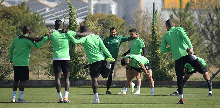 Takımımızda Kahramanmaraşspor maçı hazırlıkları tamamlandı