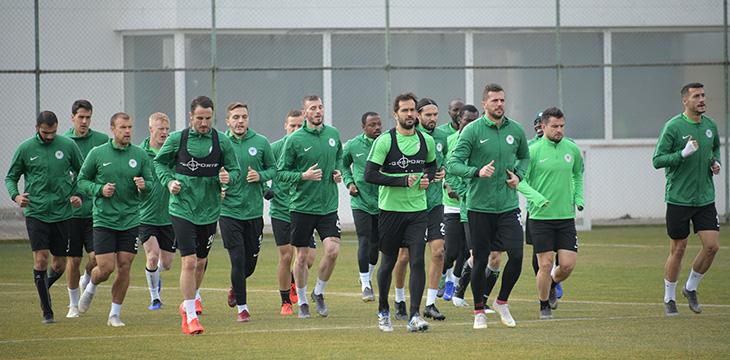 Takımımızda E.Y. Malatyaspor maçı hazırlıkları taktik çalışma ile devam etti