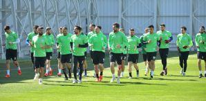 Atiker Konyaspor'umuz Beşiktaş maçının hazırlıklarını tamamladı