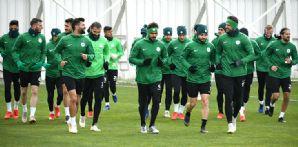 Atiker Konyaspor'umuz günü tek antrenmanla geride bıraktı