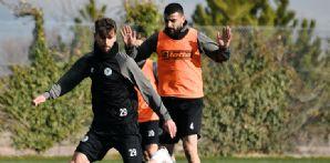 İttifak Holding Konyaspor'umuzda A.Alanyaspor maçı hazırlıkları başladı