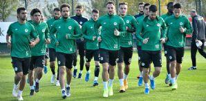 Takımımızda Eyüpspor ve Gençlerbirliği maçının hazırlıkları başladı