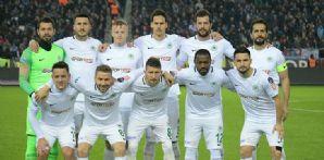 Atiker Konyaspor'umuz Trabzonspor deplasmanından puansız dönüyor