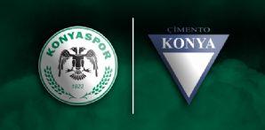 Konya Çimento ile forma kol sponsorluğu anlaşması imzaladık