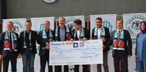 Atiker Konyaspor'umuz Otizmli Bireylerin Eğitimi'ne 350 Bin TL Bağışladı