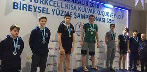 Yüzücümüz İbrahim Etem Akırşan Türkiye şampiyonu