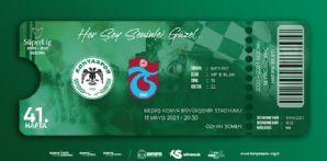 Trabzonspor Maçı Hatıra Biletleri Satışta