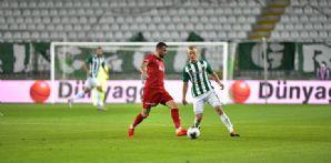 İttifak Holding Konyaspor'umuz DG Sivasspor karşısında galibiyeti kaçırdı